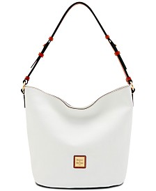 Dooney & Bourke Small Thea Feed Leather Bag