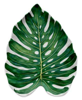 Amazon Monstera Leaf Platter