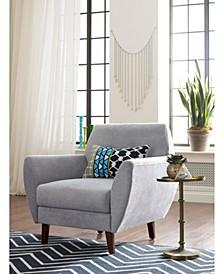 """Elle Décor 24"""" Mid-Century Modern Amelie Arm Chair"""