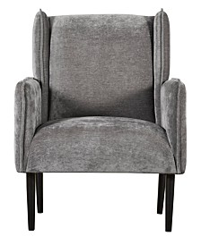 Tommy Hilfiger Linden Wingback Accent Chair, Quick Ship