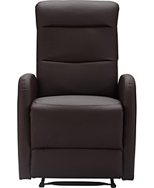 CLOSEOUT! Bryson Bonded Leather Recliner Chair, Quick Ship