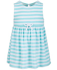 First Impression's Baby Girl's Striped Terry Dress, Created for Macy's