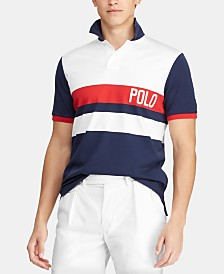 Polo Ralph Lauren Men's Custom Slim Fit Interlock Chariots Polo