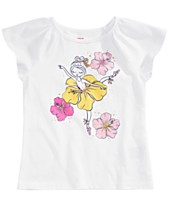 57fc92343f Epic Threads Toddler Girls Flower Girl-Print T-Shirt, Created for Macy's
