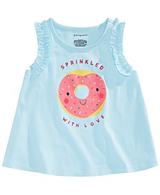 Baby Girls Donut Graphic Top, Created for Macy's