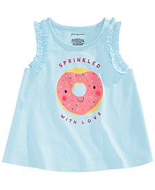 First Impressions Baby Girls Donut Graphic Top, Created for Macy's