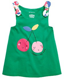First Impressions Baby Girls Cherry Graphic Tank Top, Created for Macy's