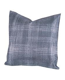 "Dungaree 26"" Designer Euro Throw Pillow"