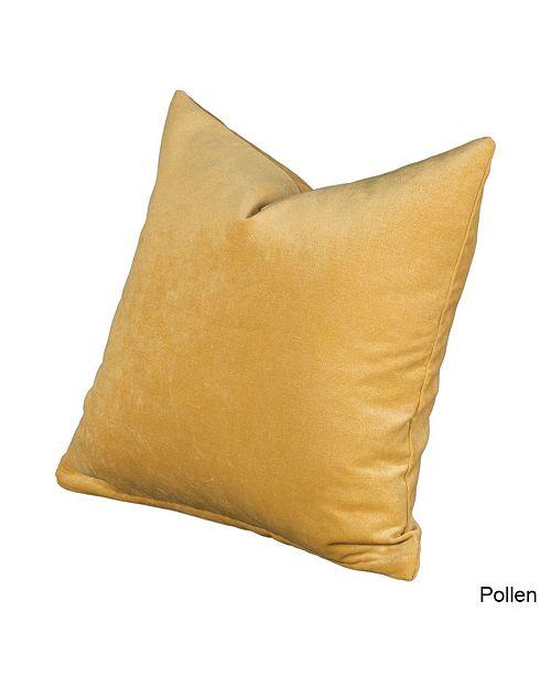 "Siscovers Padma Pollen 20"" Designer Throw Pillow"