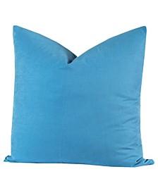 Crayola Cerulean Designer Throw Pillow