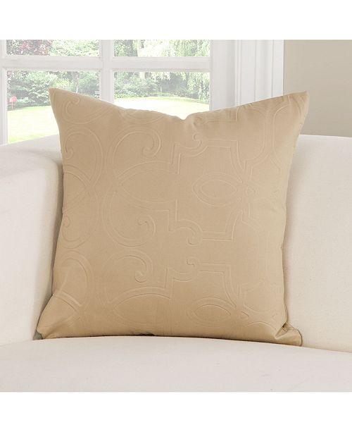 "PoloGear Gateway Wheat 20"" Designer Throw Pillow"