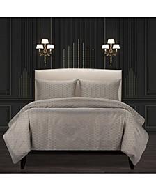 F Scott Fitzgerald Star Attraction Nickel Luxury Bedding Set