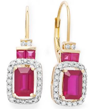 14k Rose Gold Earrings,...
