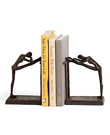 Ballerina Stretch Metal Bookend Set