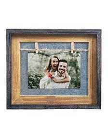 "Rustic 5"" x 7"" Horizontal Wood Picture Frame"