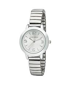 Silver Stretch Bracelet Watch