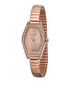 Ladies' Rose Gold Expandable Bracelet Watch