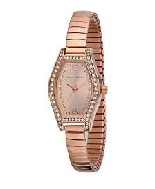 Laura Ashley Ladies' Rose Gold Expandable Bracelet Watch