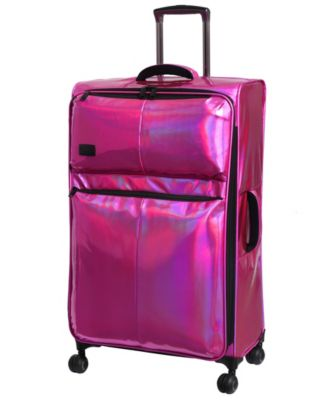 """Spellbound 27"""" Holographic Lightweight Expandable Spinner Suitcase"""