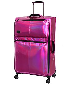 """it Girl Spellbound 27"""" Holographic Lightweight Expandable Spinner Suitcase"""