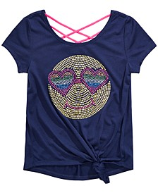 Big Girls Back-Strap Side-Knot T-Shirt