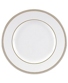 Lace Gold Appetizer Plate