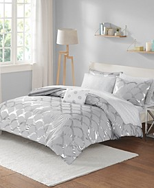 Intelligent Design Lorna Full 8 Piece Comforter and Sheet Set