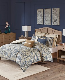 Hampton Hill Urban chic Queen 8 Piece Comforter Set