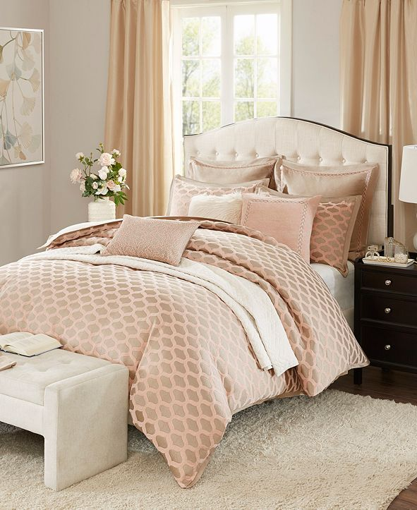JLA Home Madison Park Signature Romance King 9 Piece Comforter Set