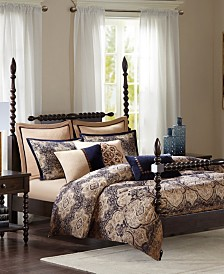 Madison Park Signature Wellington Queen 8 Piece Comforter Set