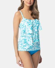 Coco Reef Tiered Tankini Top & Bikini Bottoms