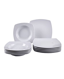 Simply Fresh 12 Piece Dinnerware Set