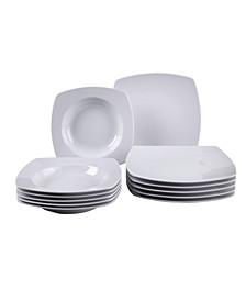 Simply Fresh 12 Piece Dinnerware Set