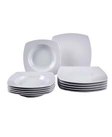Villeroy & Boch Simply Fresh 12 Piece Dinnerware Set