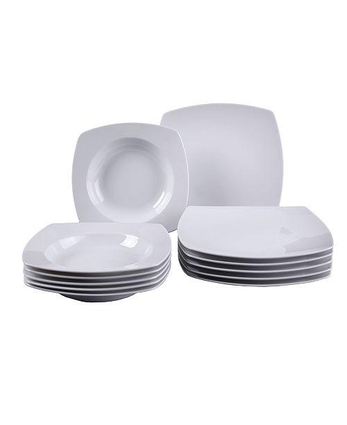 Villeroy & Boch CLOSEOUT! Simply Fresh 12 Piece Dinnerware Set