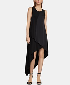 BCBGMAXAZRIA Asymmetrical-Hem Dress