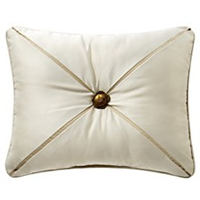 "Waterford Anora Brass 16"" X 20"" Collection Decorative Pillow"