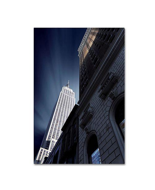 """Trademark Global Sebastien Del Grosso 'Skyscraper' Canvas Art - 19"""" x 12"""" x 2"""""""