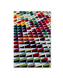 "Jared Lim 'Origami' Canvas Art - 32"" x 22"" x 2"""