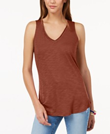I.N.C. V-Neck Tank Top, Created for Macy's