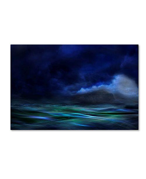 "Trademark Global Willy Marthinussen 'The Island' Canvas Art - 32"" x 22"" x 2"""