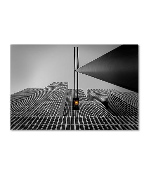 "Trademark Global Wim Schuurmans 'Yellow Light' Canvas Art - 47"" x 30"" x 2"""