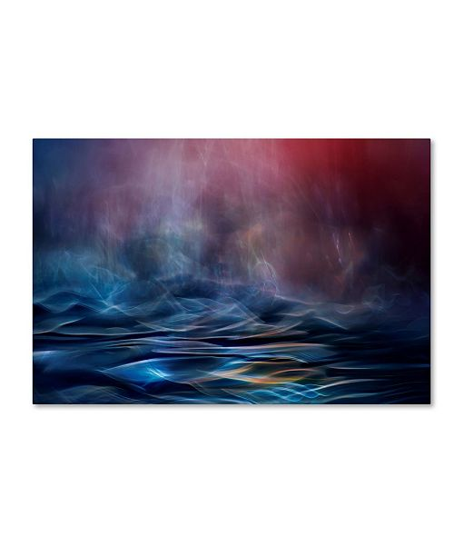 """Trademark Global Willy Marthinussen 'Into The Unknown' Canvas Art - 19"""" x 12"""" x 2"""""""