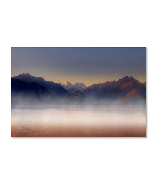 "Trademark Global Joana Kruse 'The Alps' Canvas Art - 32"" x 22"" x 2"""