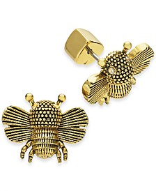 Kate Spade New York  Gold-Tone Bee Stud Earrings