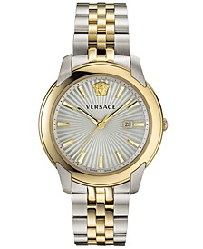 Men's Swiss V-Urban Two-Tone Stainless Steel Bracelet Watch 42mm