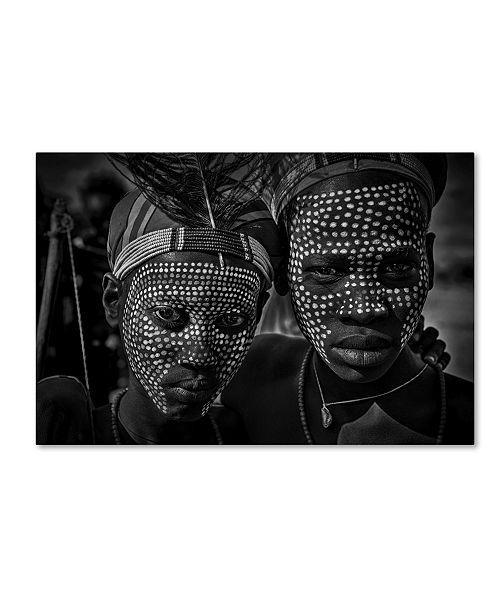 "Trademark Global Joxe Inazio Kuesta 'Untitled' Canvas Art - 19"" x 12"" x 2"""