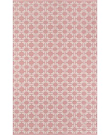 "Palm Beach Via Mizner Pink 2'3"" x 8' Indoor/Outdoor Runner Area Rug"