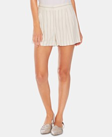 Vince Camuto Pinstriped Shorts