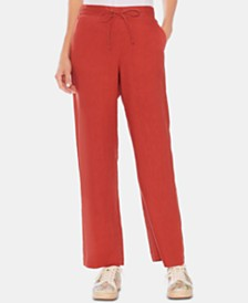 Vince Camuto Linen Drawstring Pants